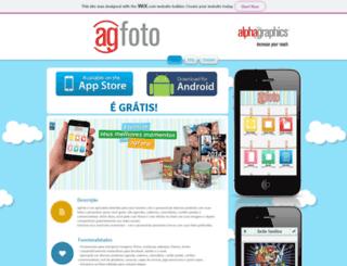 agfoto.com.br screenshot