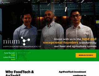agfunder.com screenshot