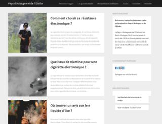 agglo-paysdaubagne.com screenshot