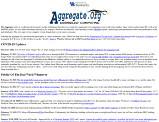 aggregate.org screenshot