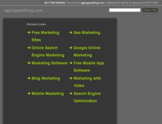 aggregatedblog.com screenshot