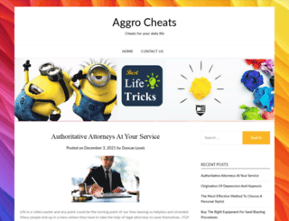 aggrocheats.com screenshot