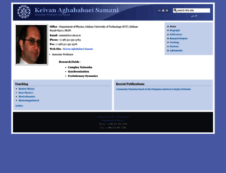 aghababaeisamani.iut.ac.ir screenshot