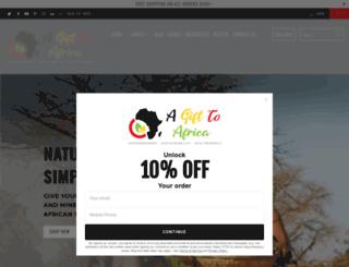 agift2africa.com screenshot