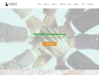 agileafrica.org screenshot