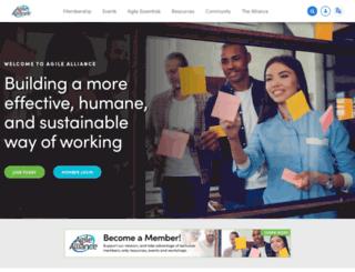 agilealliance.com screenshot