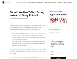 agilebuddha.com screenshot