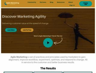 agilemarketing.net screenshot
