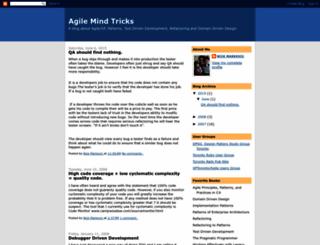 agilemindtricks.blogspot.com screenshot