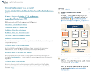 agiles.org screenshot