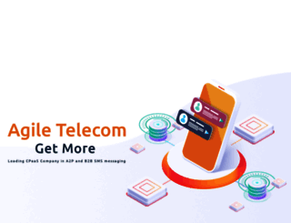 agiletelecom.com screenshot