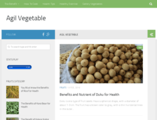 agilvegetable.com screenshot