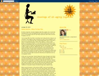 agingingenue.blogspot.com screenshot