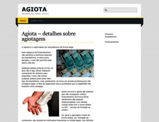 agiota.org screenshot