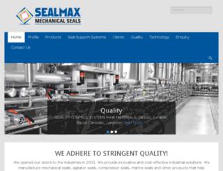 agitator-seals.com screenshot
