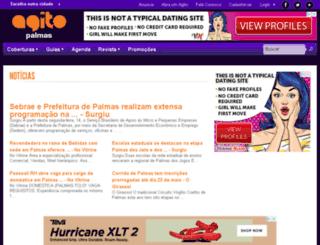 agitopalmas.com.br screenshot