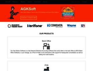 agksoft.com screenshot
