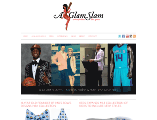aglamslam.com screenshot