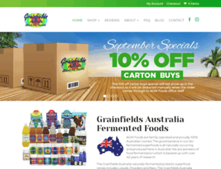 agmfoods.com screenshot