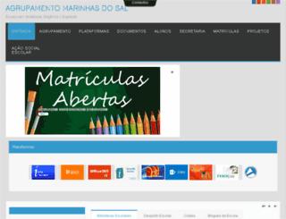 agmsal.ccems.pt screenshot