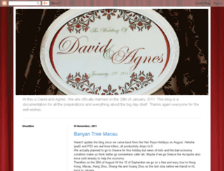 agnesdavidwedding.blogspot.co.nz screenshot
