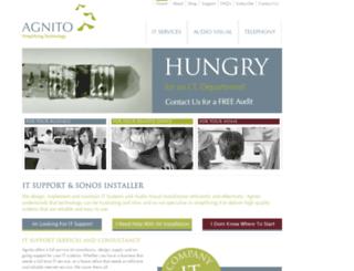 agnito.co.uk screenshot