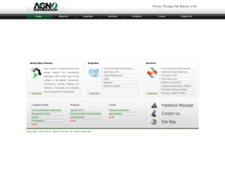 agnopharma.com screenshot