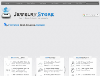 agogojewelry.com screenshot