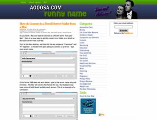 agoosa.com screenshot