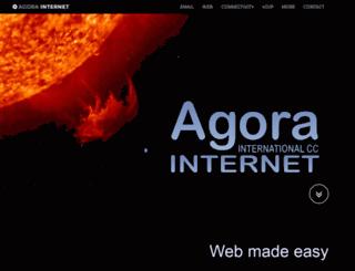 agora.co.za screenshot