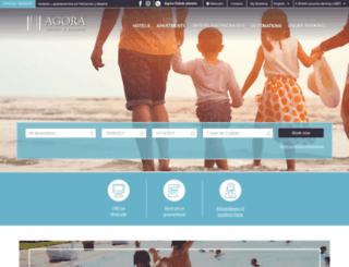 agorahoteles.com screenshot
