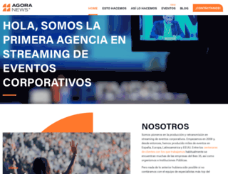agoranews.es screenshot