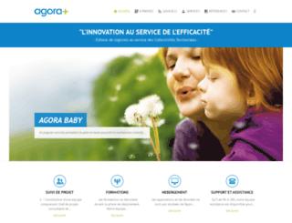 agoraplus.fr screenshot