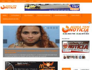 agoratemnoticia.com.br screenshot