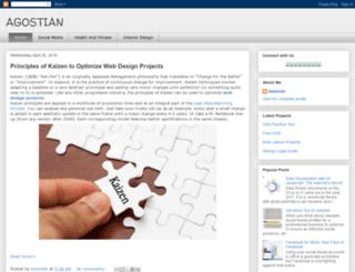 agostians.blogspot.com screenshot