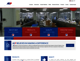 agp.com.pk screenshot