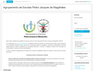 agpjmagalhaes-m.ccems.pt screenshot