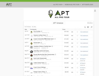 agpts.bluegolf.com screenshot