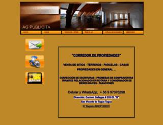 agpublicita.amawebs.com screenshot
