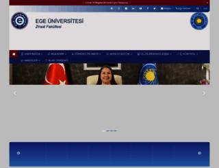 agr.ege.edu.tr screenshot