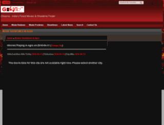 agra.ghoomo.com screenshot