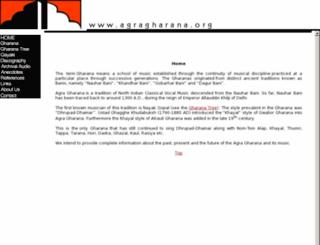 agragharana.org screenshot