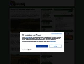 agraria.org screenshot