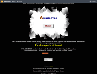 agrariafree.altervista.org screenshot