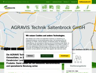 agravis-technik-saltenbrock.de screenshot