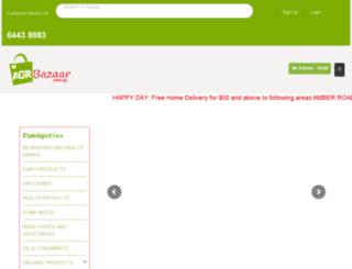agrbazaar.com.sg screenshot
