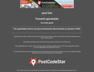agreeadate.com screenshot