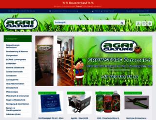 agri-culture.at screenshot