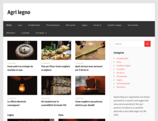 agri-legno.it screenshot