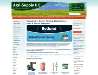agri-supply.co.uk screenshot